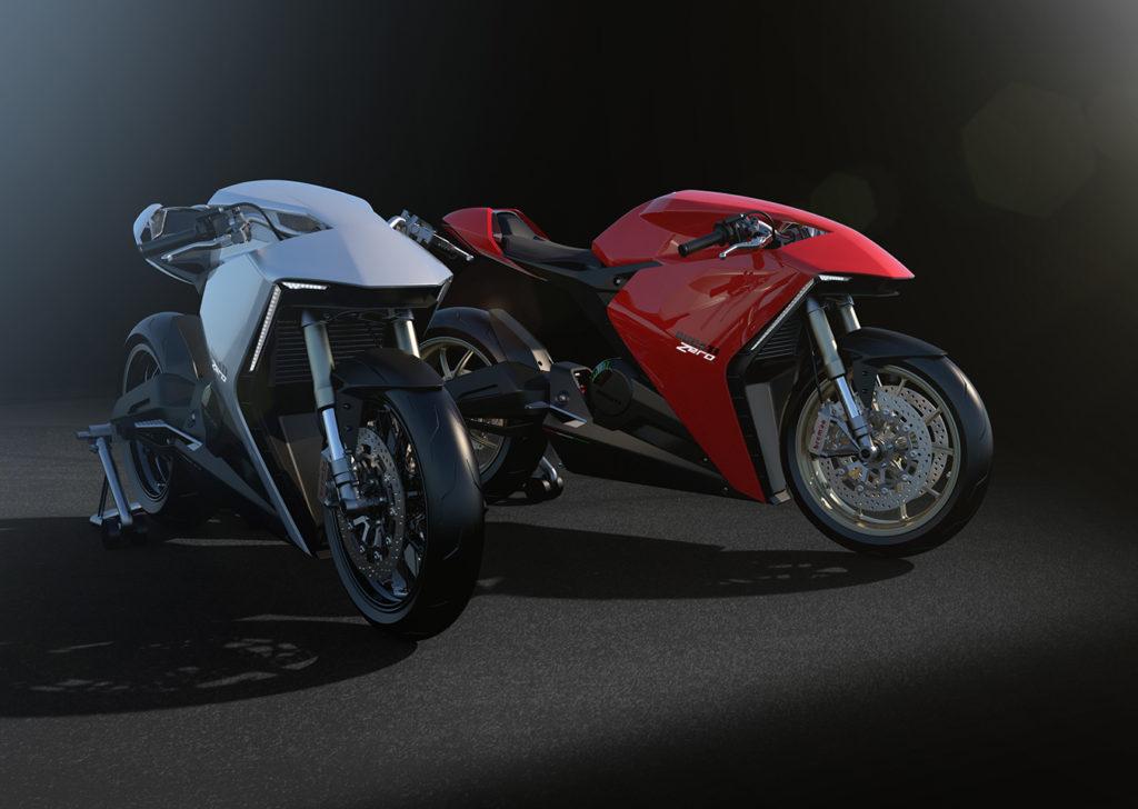 Ducati Zero Futuristic Design Project