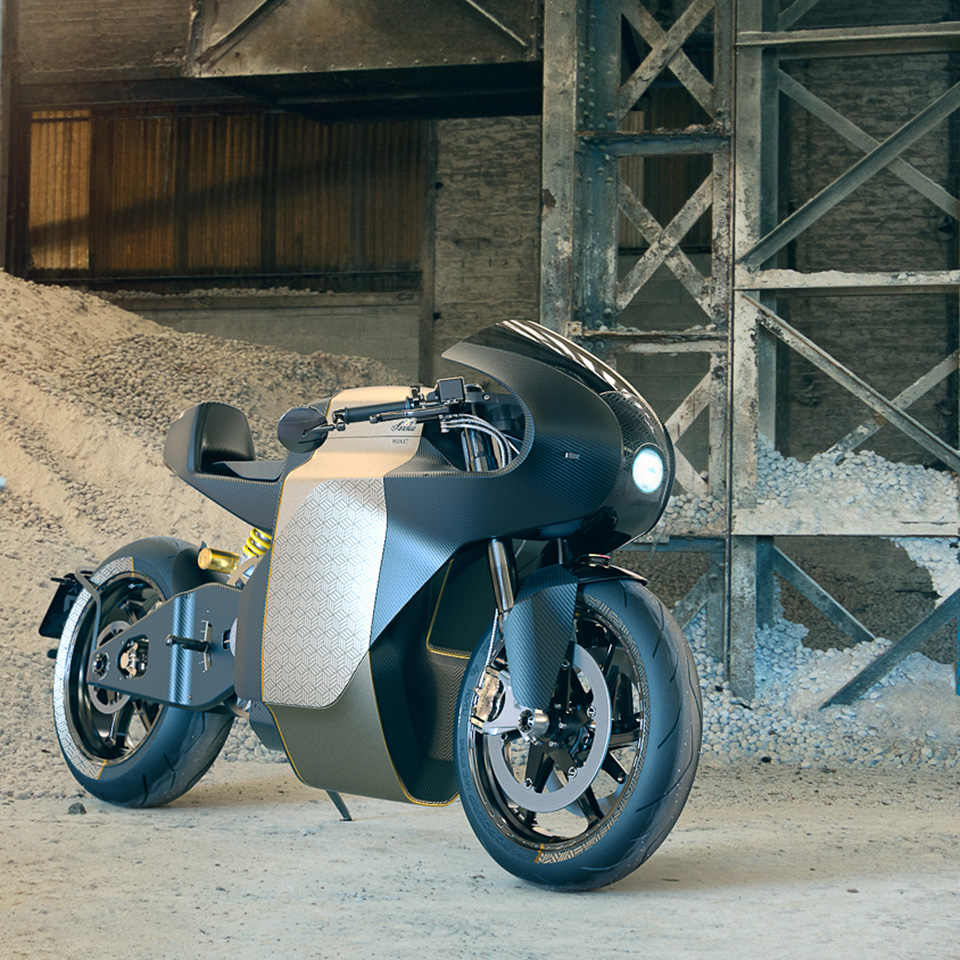Electric Motorcycles News - Saroléa