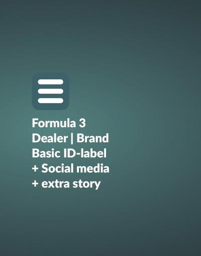 formula 3 basic dealer id social media extra story. Black Bedroom Furniture Sets. Home Design Ideas