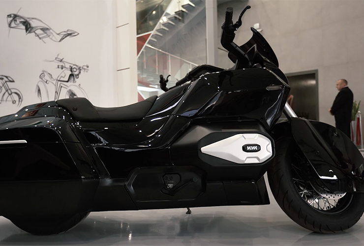 Kalashnikov electric motorcycles developed by IZH | electricmotorcycles.news | It's time.