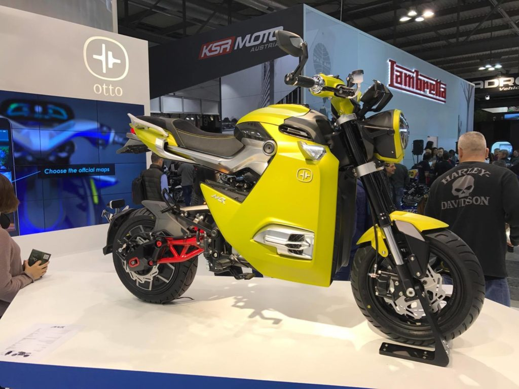 Mini-City-Racer OTTO on Electric Motorcycles News Eicma 2017