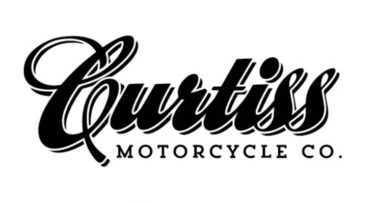 Curtiss Motorcycle logo on Electric Motorcycles News