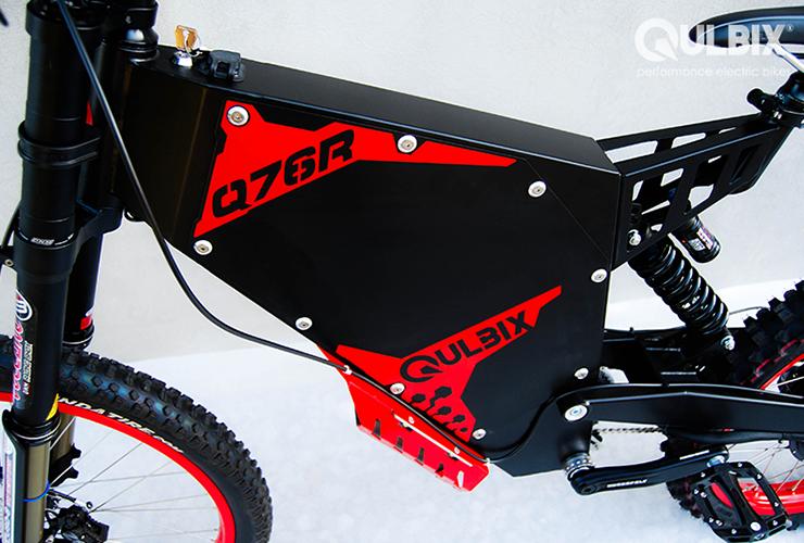 Electric Motorcycles News - Qulbix Q76R