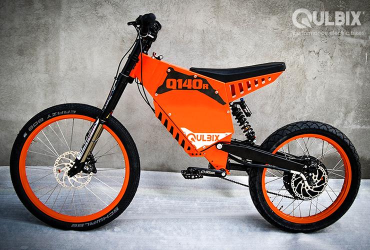 Electric Motorcycles News - Qulbix Q140R