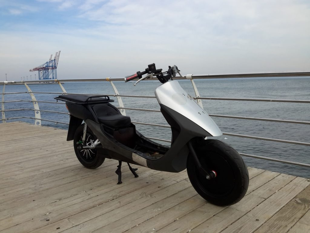 Volta Family utility electric scooter | electricmotorcycles