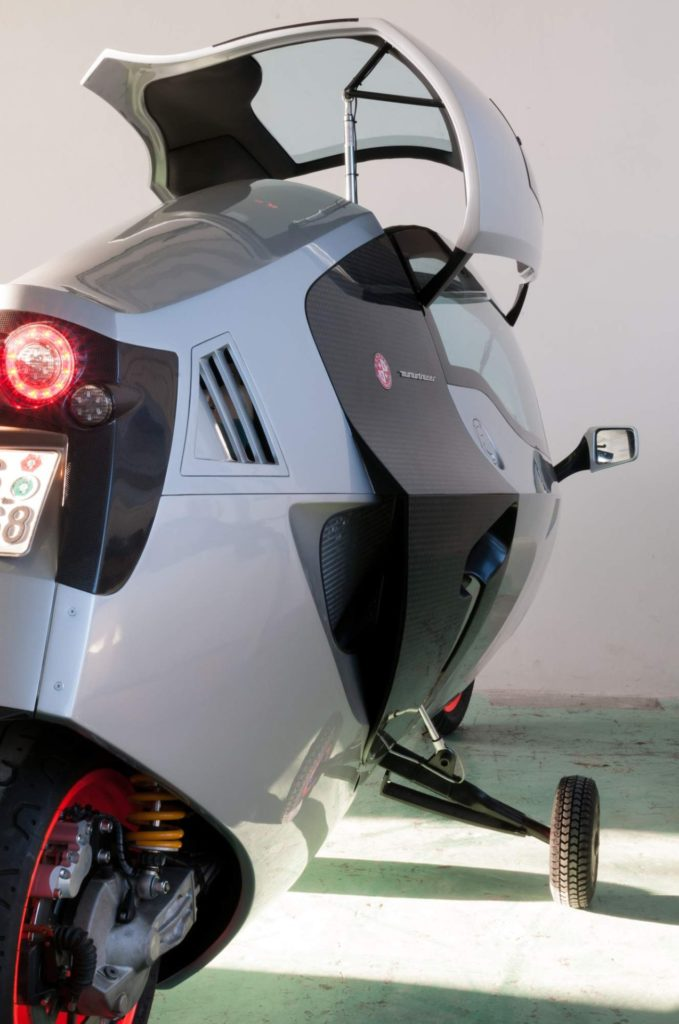 Electric Motorcycles News - MonoRacer Arnold Wagner