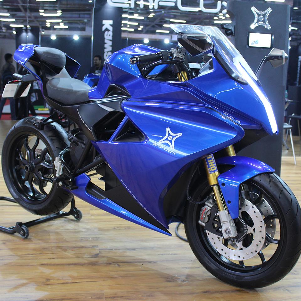 Electric Motorcycles News - Emflux Motors