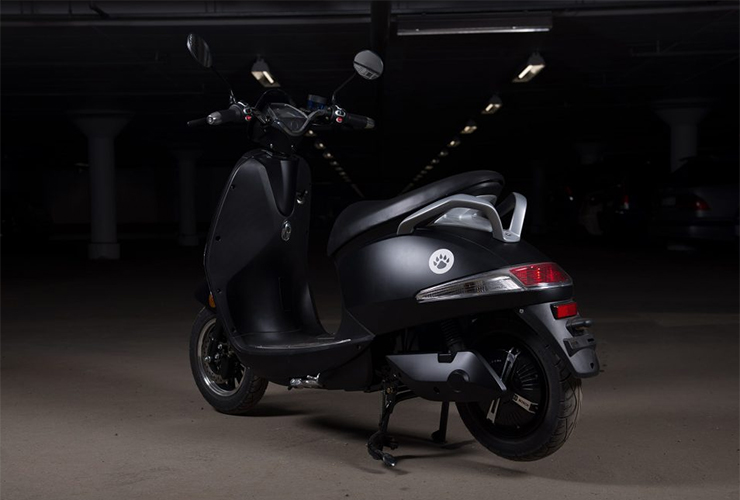 Electric Motorcycles News - Vessla Electric Scooter