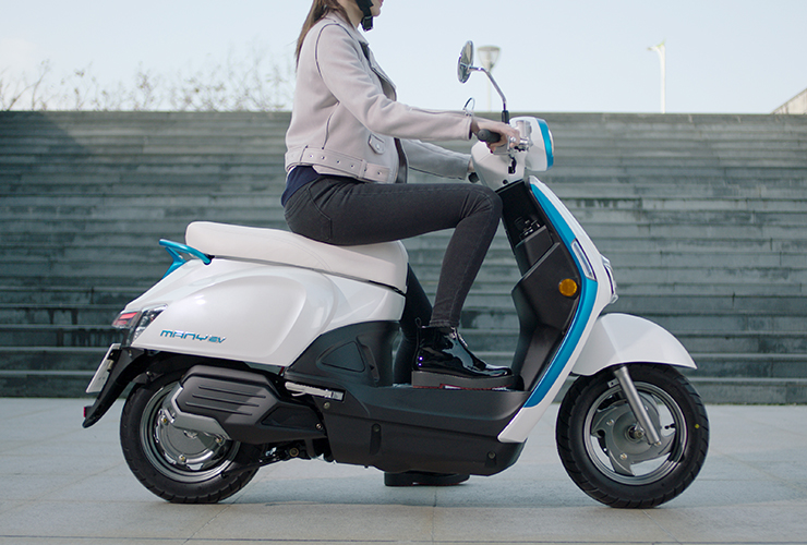 Electric Motorcycles News - Kymco electric scooter