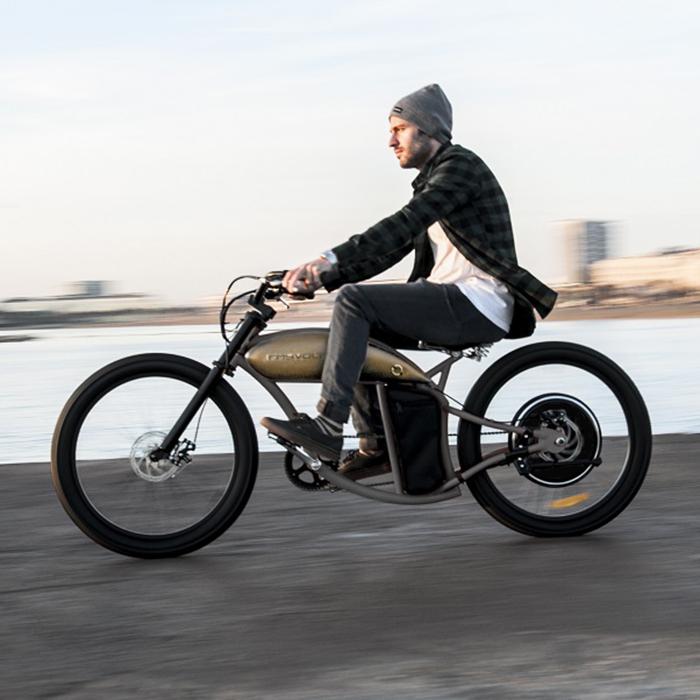 Electric Motorcycles - RayVolt Cruzer