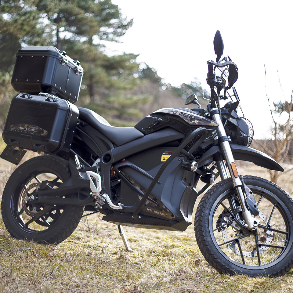 Electric Motorcycles News - Zero Motorcycles DSR Black