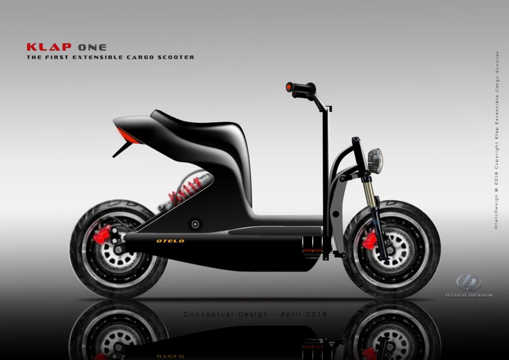 Electric Motorcycles News - Daniel Otelo Cargo scooter