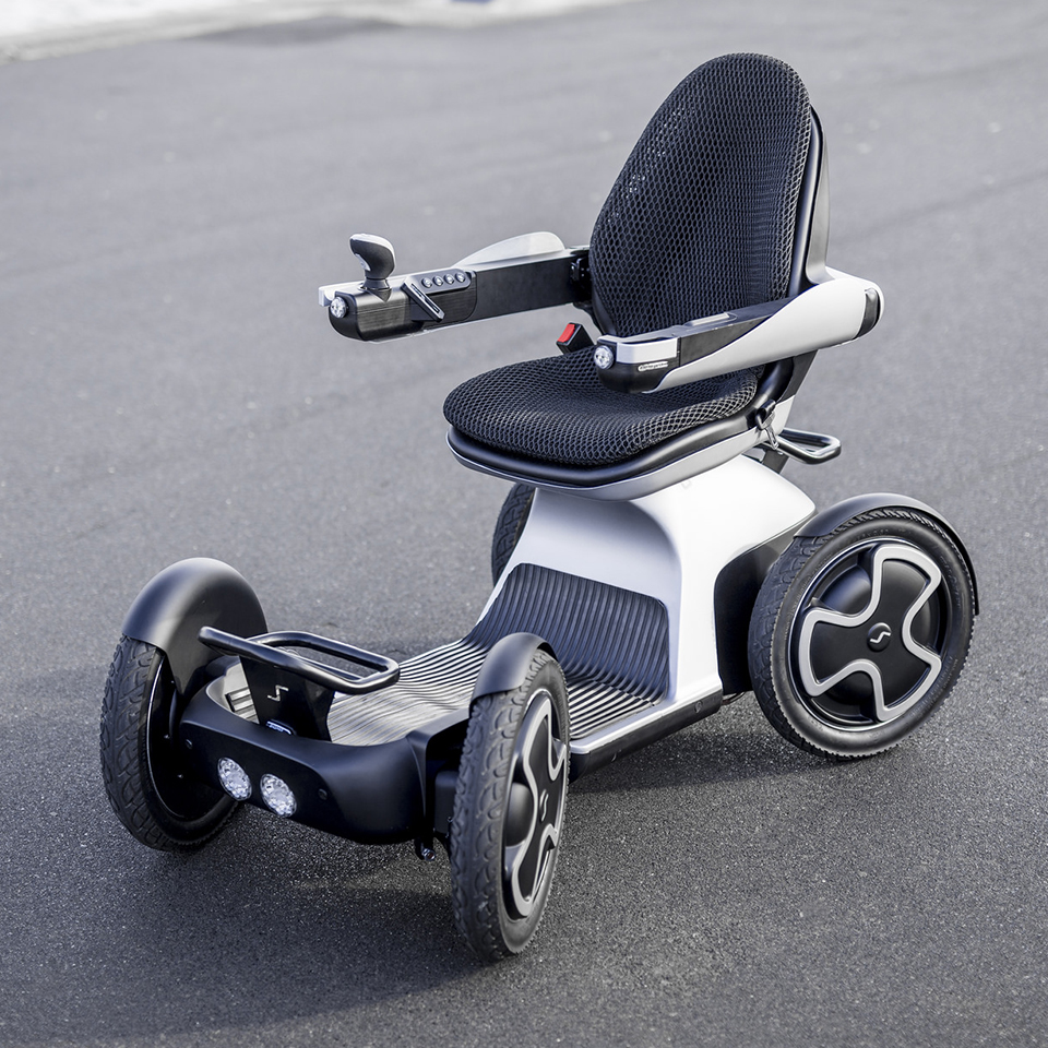 Electric Motorcycles News - Scoozy mobility scooter