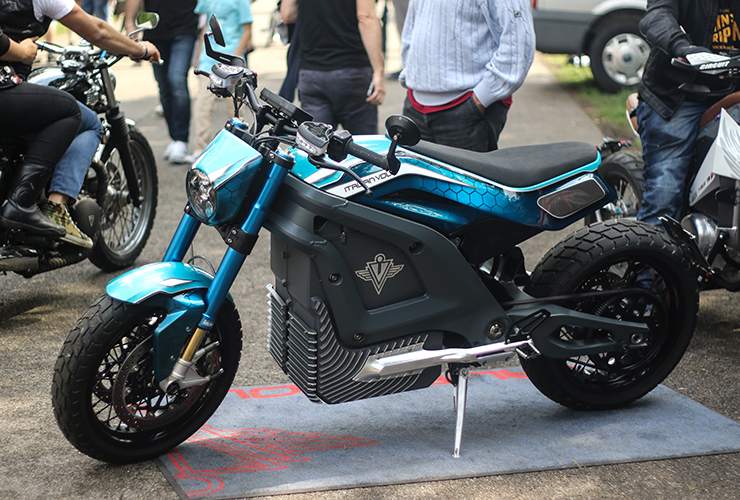 Electric Motorcycles News - Italian Volt - Lacama