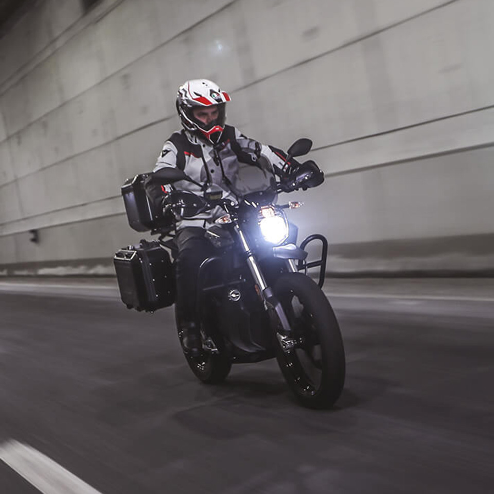 Electric Motorcycles News - Zero Motorcycles DSR Black Forest