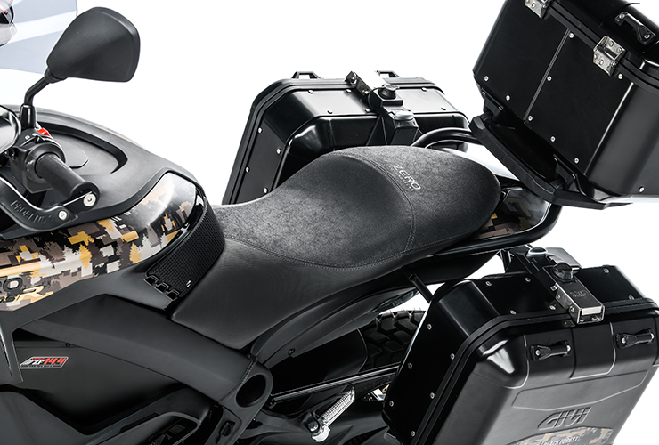 Electric Motorcycles News - Zero Motorcycles DSR Black Forest Edition