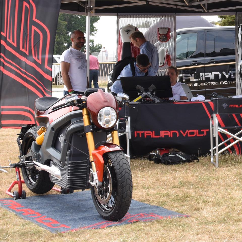 Electric Motorcycles News - Italian Volt - Lacama