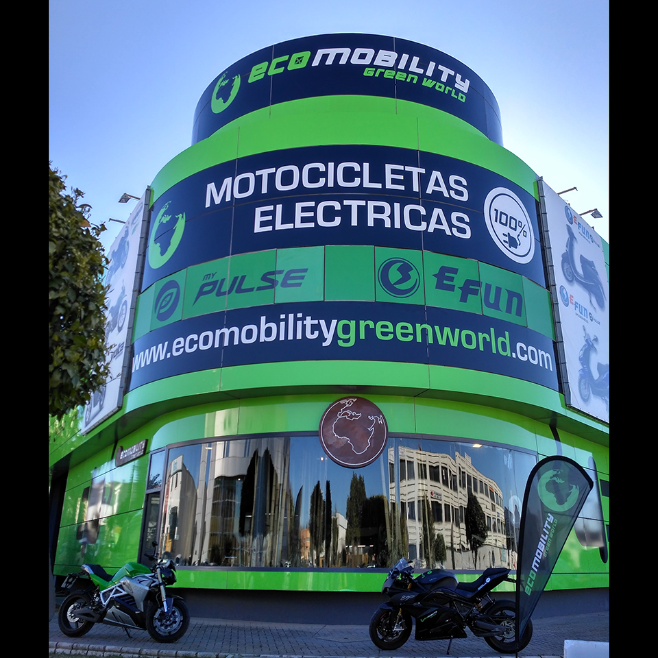 Electric Motorcycles News - Ecomobility Green World Spain