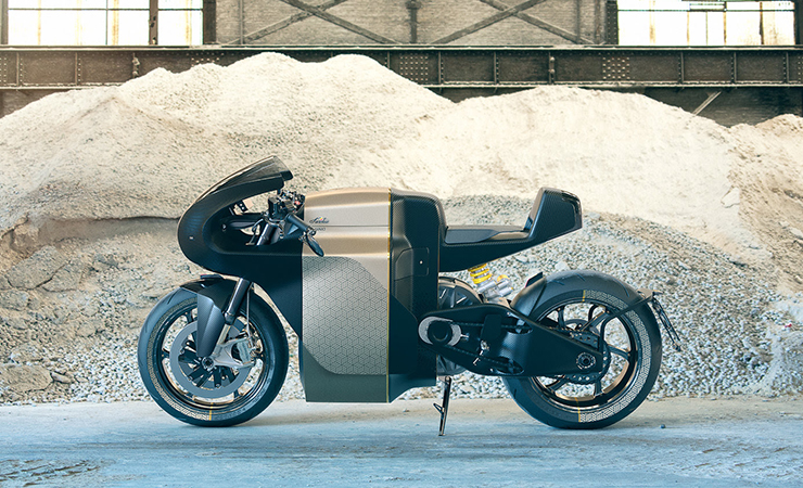 Electric Motorcycles News - Saroléa - MANX7