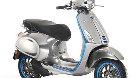 Electric Motorcycles News - Vespa Elettrica