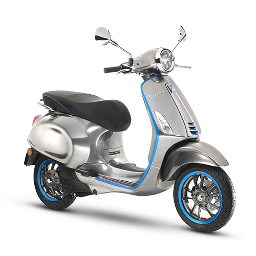 Electric Motorcycles News - Vespa Elettrica