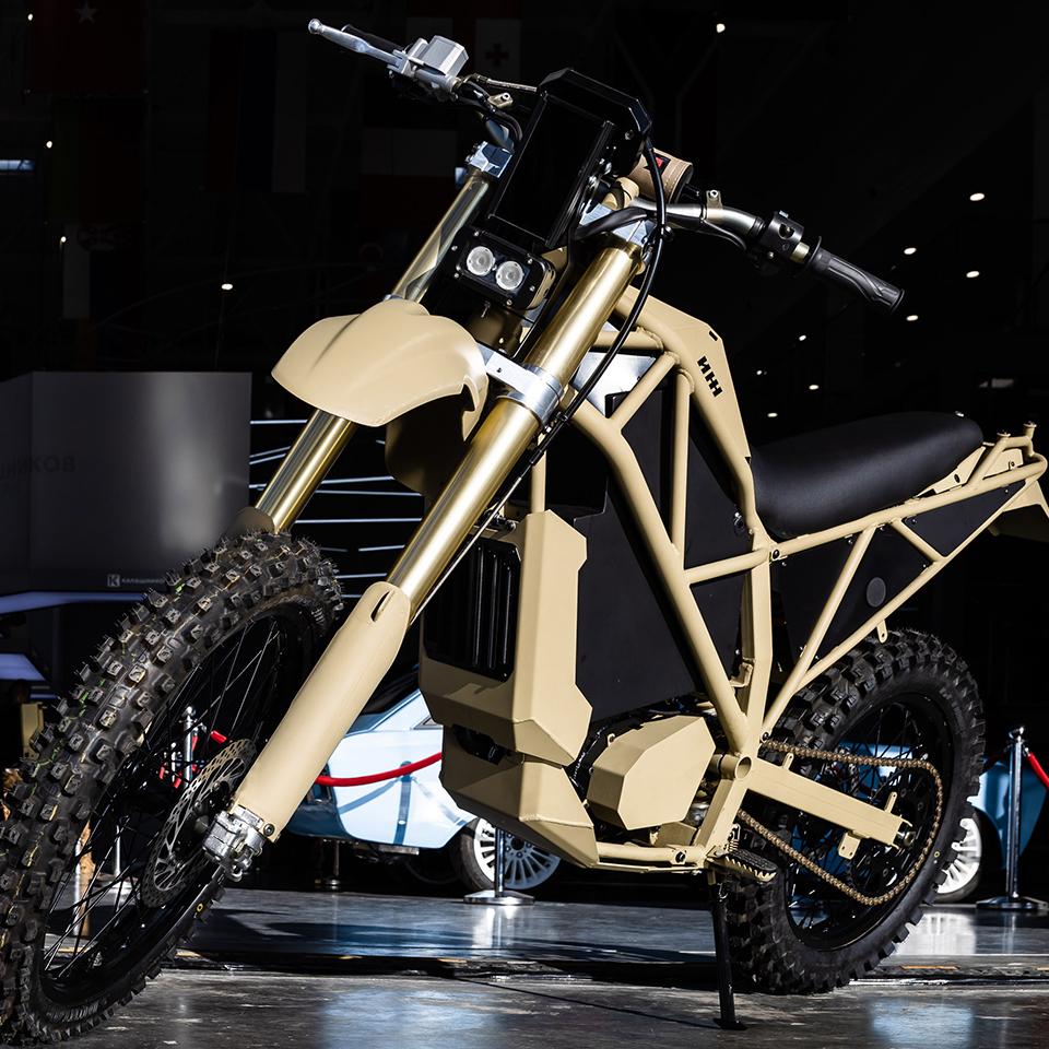 Electric Motorcycles News - Kalashnikov SM-1