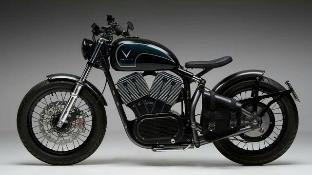 Electric Motorcycles News - VEITIS electric bobber