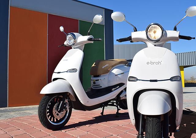 Electric Motorcycles News - E•Broh - Spuma Li