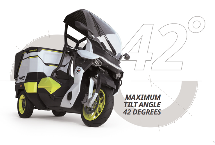 Electric Motorcycles News - Rapide 3 - Gaius Automotive Inc.