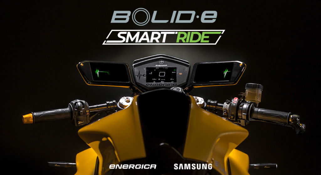 Electric Motorcycles News - Energica - Bolid-E