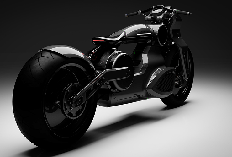 Electric Motorcycles News - Curtiss Bobber