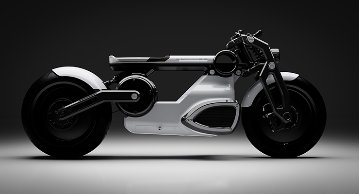 Electric Motorcycles News - Curtiss Cafe Racer