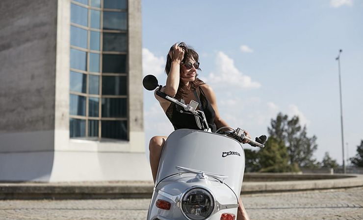 Electric Motorcycles News - Hotel Josef Prague