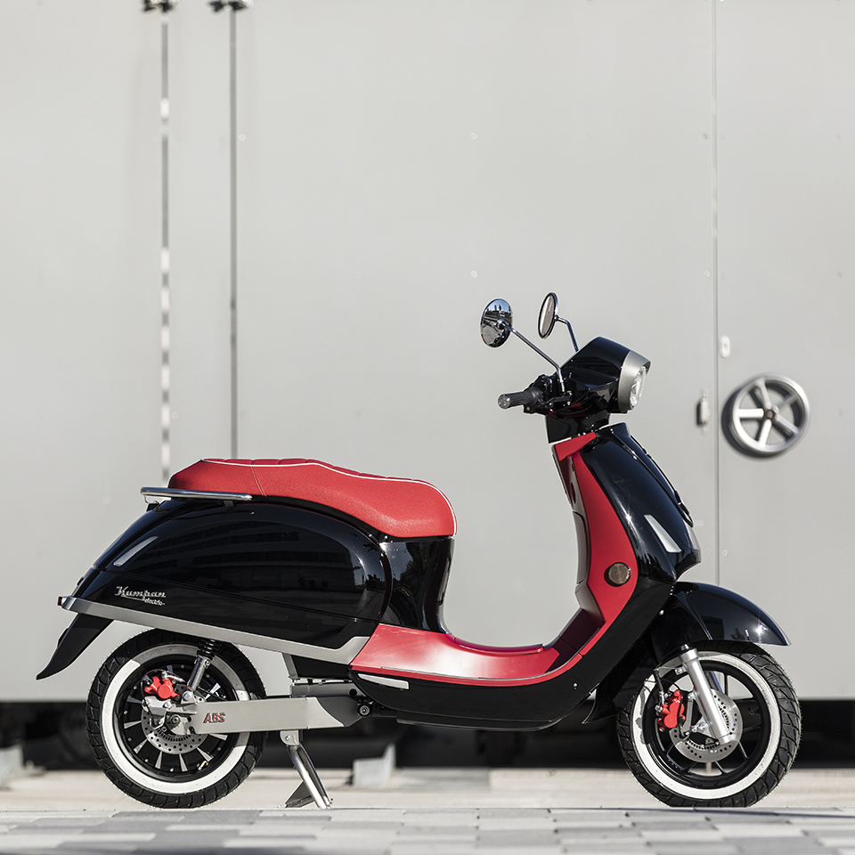 Electric Motorcycles News - Kumpan 1954 Ri Sport