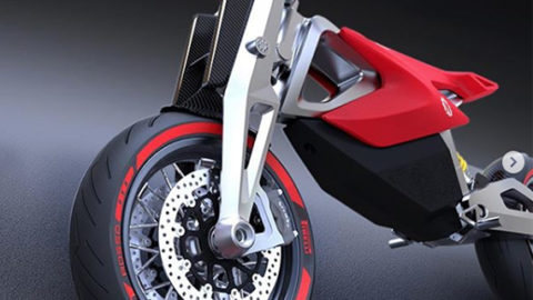 Electric Motorcycles News - Nito N4 Concept Electric Urban Motard