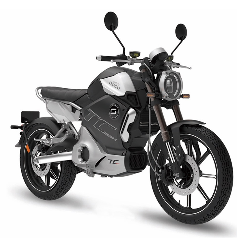Electric Motorcycles News - Super Soco TC-Max