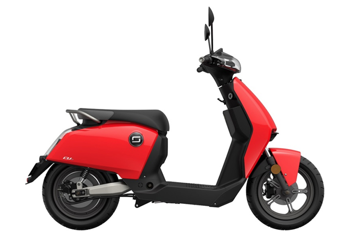 Electric Motorcycles News - Super Soco - CUx scooter