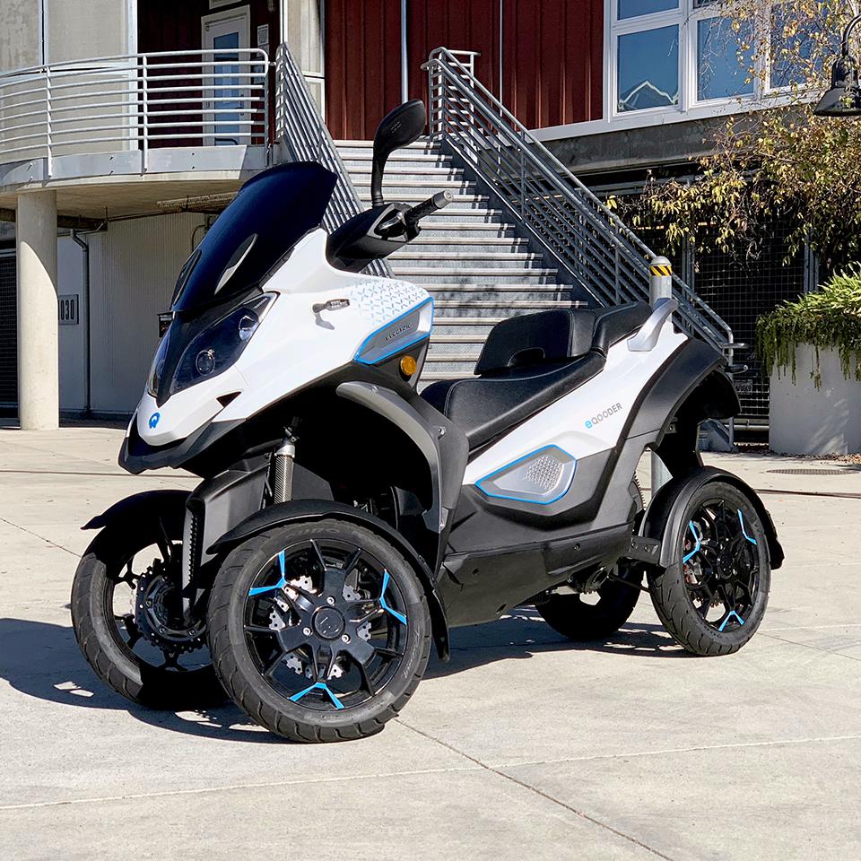 Electric Motorcycles News - e-Qooder