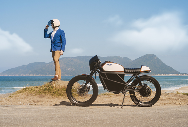 Electric Motorcycles News - Fly Free Smart Motorcycles - Smart Classic