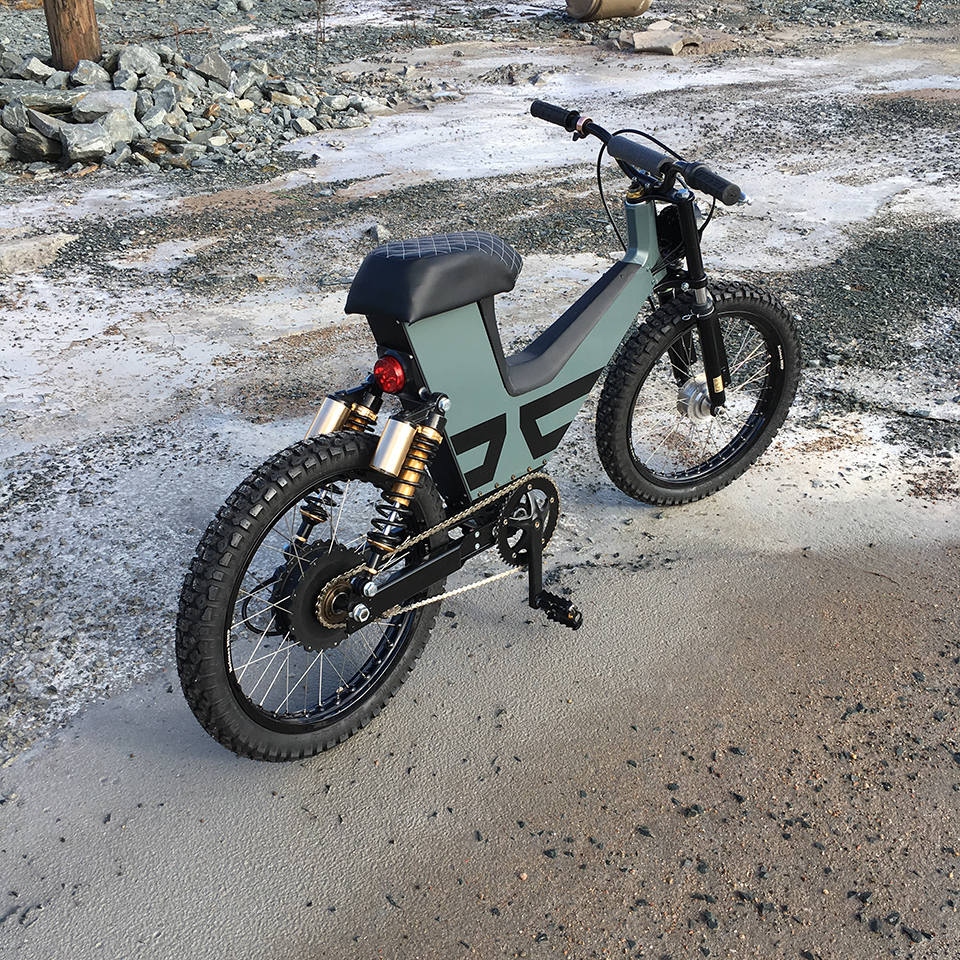 Electric Motorcycles News - Suru Scrambler