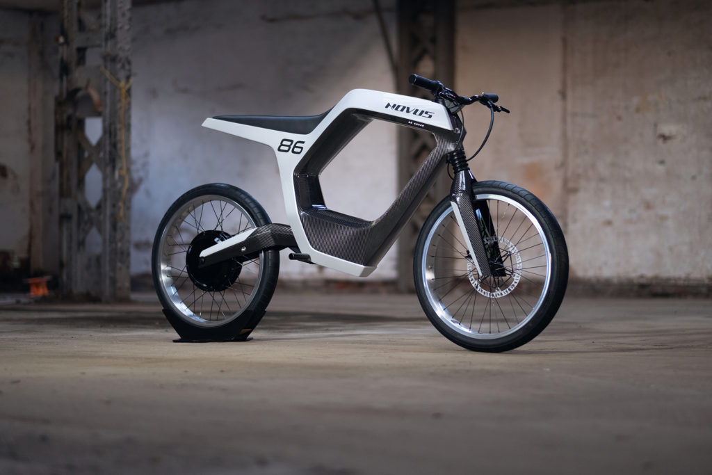 Electric Motorcycles News - NOVUS e-Bike