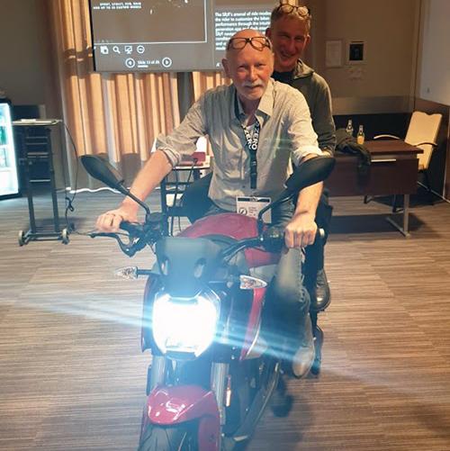 Ecomobiel Antwerp - launch Zero SR/F - Zero Motorcycles - Electric Motorcycles News