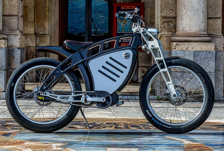 Electric Motorcycles News - EV NERDS - Arlix Tecno Cruiser