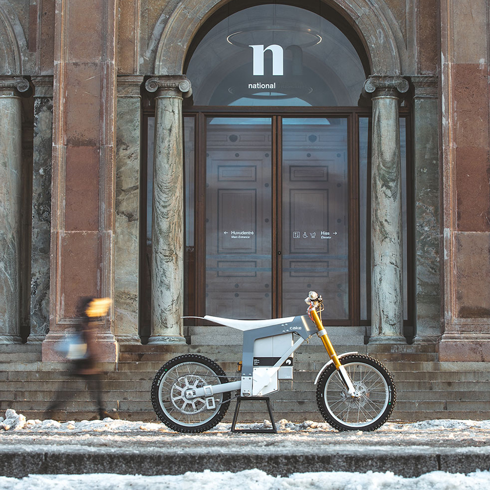 Cake Kalk in National museum Sweden - Electric Motorcycles News