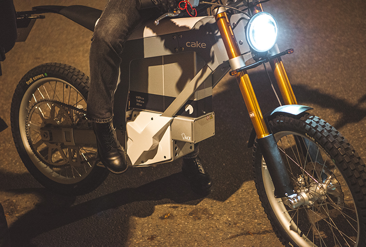 Electric Motorcycles News - Kalk& - street legal bike