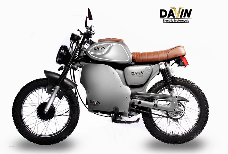 Electric Motorcycles News - EV NERDS - Davin Motorcycles