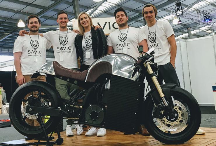 Electric Motorcycles News - Savic Motorcycles Australia
