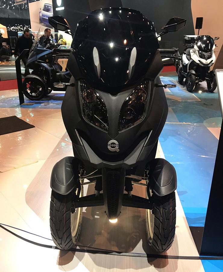 eQooder - Motorshow Geneva 2019 - Electric Motorcycles News