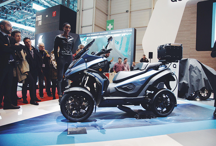 eQooder - Motorshow Geneva 2019 - Electric Motorcycles News