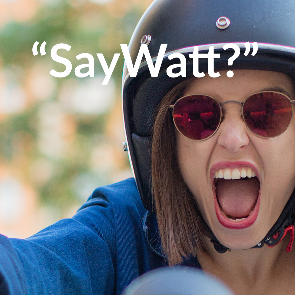 Say Watt campaign - Electric Motorcycles News